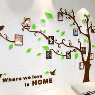 3d立体贴画背景墙照片树