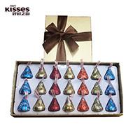 好时之吻巧克力礼盒21粒装