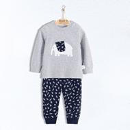 南极人儿童纯棉内衣套装
