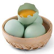 菜源农场农家绿壳土鸡蛋30枚