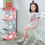 哈比熊女童鞋凉鞋