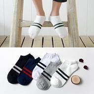春夏男女学生纯棉船袜