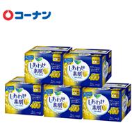 双11预售:乐而雅瞬吸棉柔夜用卫生巾40cm*7片*5包