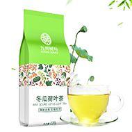 瘦身利器:冬瓜荷叶茶
