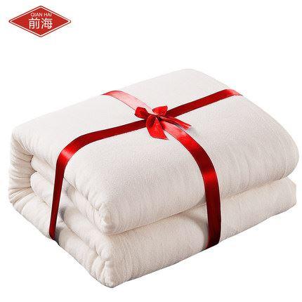 新疆纯棉羽绒冬季加宿舍棉花被3斤