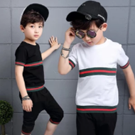 童装男童运动套装