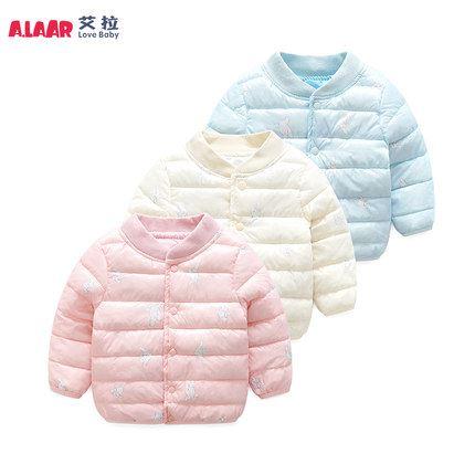 反季特卖:女宝宝儿童韩版棉衣