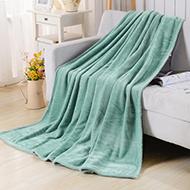 夏季法兰绒午睡毯