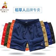 稻草人夏季休闲短裤