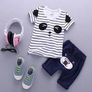童装宝宝短袖+短裤套装