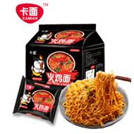 中国火鸡面正品卡面泡面5袋