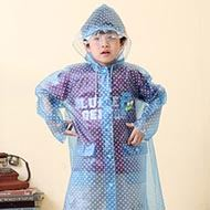 蓝眼精灵学生雨衣