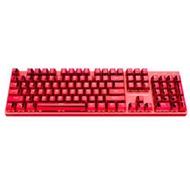 雷神红蜘蛛K75T电镀键帽机械键盘