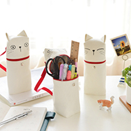 韩国可爱小清新帆布卡通笔袋