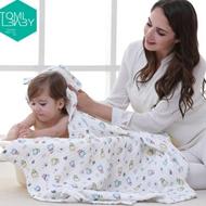 TomiBaby加厚超柔婴儿浴巾
