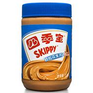 SKIPPY 四季宝 颗粒花生酱510g