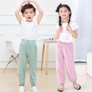 男女童薄款防蚊灯笼裤