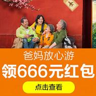 携程666元专享旅游优惠券