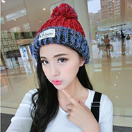 Gelseto 女款冬季针织毛线帽