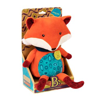 B.toys会说话的小狐狸毛绒玩具