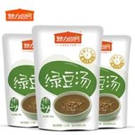 解暑神器:魅力厨房即食熟绿豆汤3袋