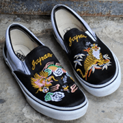 横须贺风格范斯联名鞋本周发售