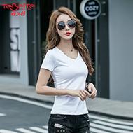 夏季新韩版修身短袖T恤