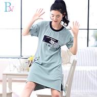 标娜纯棉韩版公主睡裙
