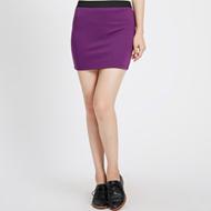 METERSBONWE女士针织包臀半身裙