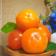 山西果园新鲜甜软小柿子15个
