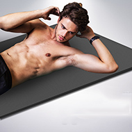 悦步男士加长加厚瑜伽垫