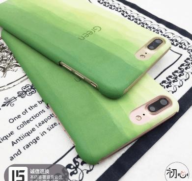 首页 今日值得买 手机保护套 淘宝优惠券 小清新抹茶绿色渐变苹果手机