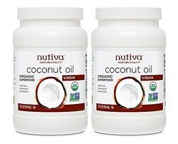 Nutiva 有机特级初榨椰子油 425g*2瓶