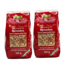 RAPUNZEL 蔬菜汁彩色数字字母面条 250g*2袋