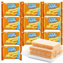 钙芝 奶酪味高钙威化饼干 58.5g*10袋