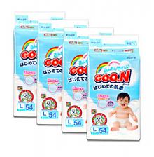 GOO.N 大王 维E系列 婴儿纸尿裤 L54片 *4包