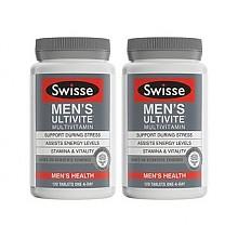 预售:Swisse 男性综合维生素片 120片*2瓶