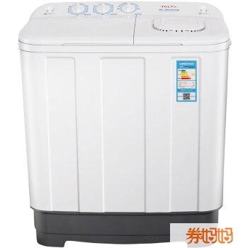 半自动双缸洗衣机