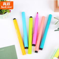 Truecolor/真彩  可水洗水彩笔12色