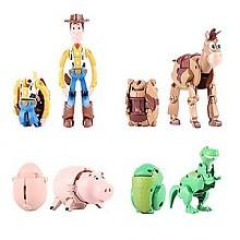 BANDAI 万代 迪士尼玩具总动员 E85273 胡迪与朋友们