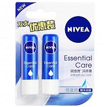 NIVEA 妮维雅 润唇膏 天然型4.8g*2件