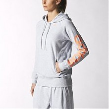 Adidas 阿迪达斯 女款训练系列连帽运动夹克
