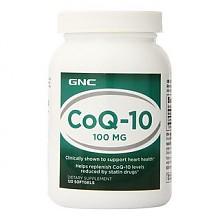 GNC 健安喜 辅酶Q10软胶囊100mg 120粒