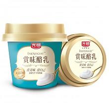 限地区:Bright 光明 赏味酪乳 风味发酵乳 原味无添加 135g*3杯*12件