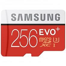 SAMSUNG 三星 256GB Micro SDXC存储卡(95MB/s,90 MB/s)
