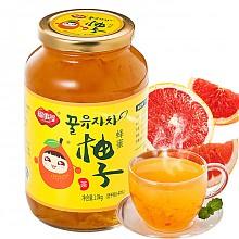 福事多 蜂蜜柚子茶 果味茶罐头 1000g