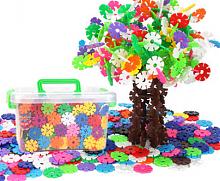 DoDoLu/多多鹿 儿童益智玩具加厚雪花片320片+收纳箱