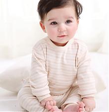 巴布呗呗 纯棉婴儿内衣套装