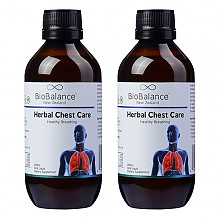BioBalance Herbal Chest Care 草本清肺液 200ml *2 温肺止咳