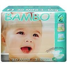 BAMBO 班博 有机纸尿裤 2号 30片